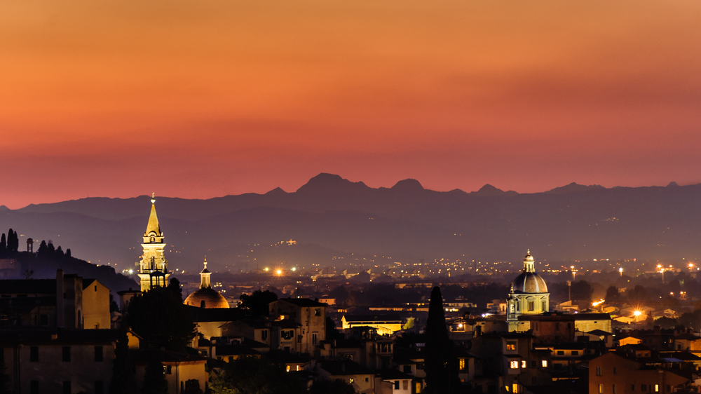 Renaissance Sunset - Florence, Italy.