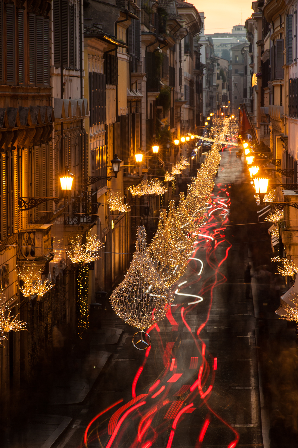 Via Condotti - Rome, Italy.