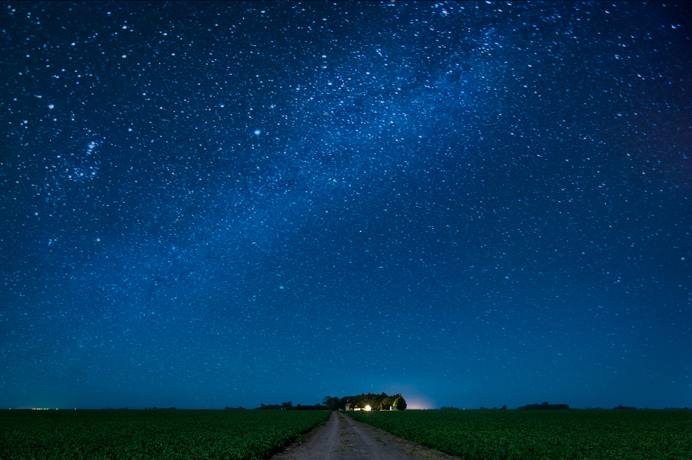 Milky Way Over Arequito, Argentina