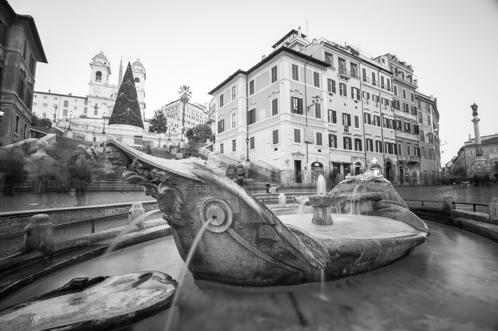 Fontana di Piazza Spagna (click para agrandar)