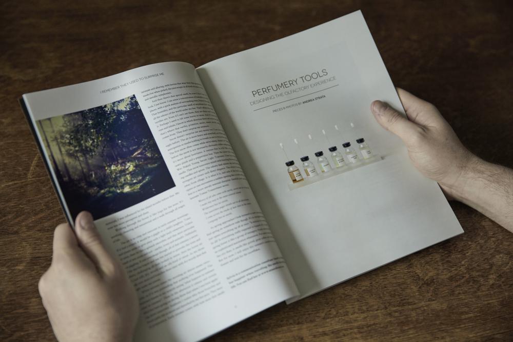"""""""Perfumery Tools"""" by Andrea Strata, issue three"""