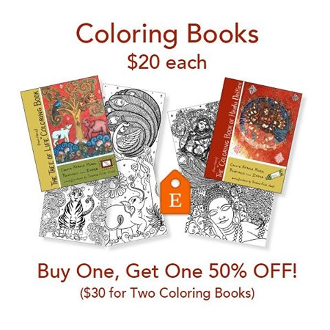 SPECIAL SUMMER SALE! School's out and need something to do? Learn a centuries-old painting tradition from India. Buy a Tree of Life coloring book for your child and get the Hindu Deities coloring book for yourself 50% off! #hindugoddesses #coloringbook #coloringbooksforadults #coloringforadults #kidsactivities #childrensactivities #childrensart #hindu #india #indianart #summeractivities #summercrafts #kidscrafts
