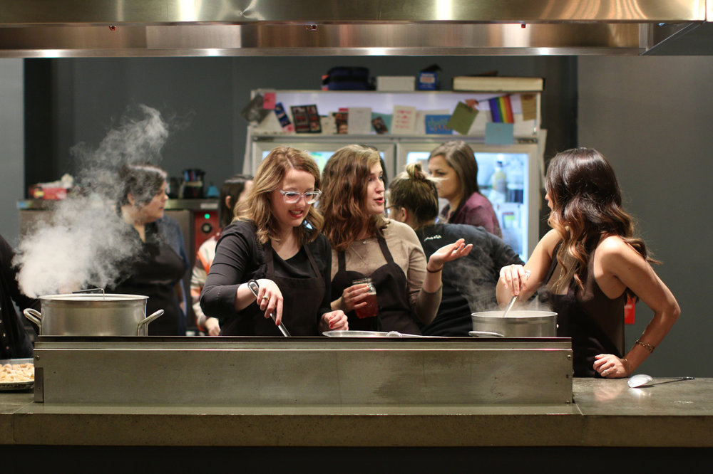 The Kitchen Columbus Participatory Dining Experience