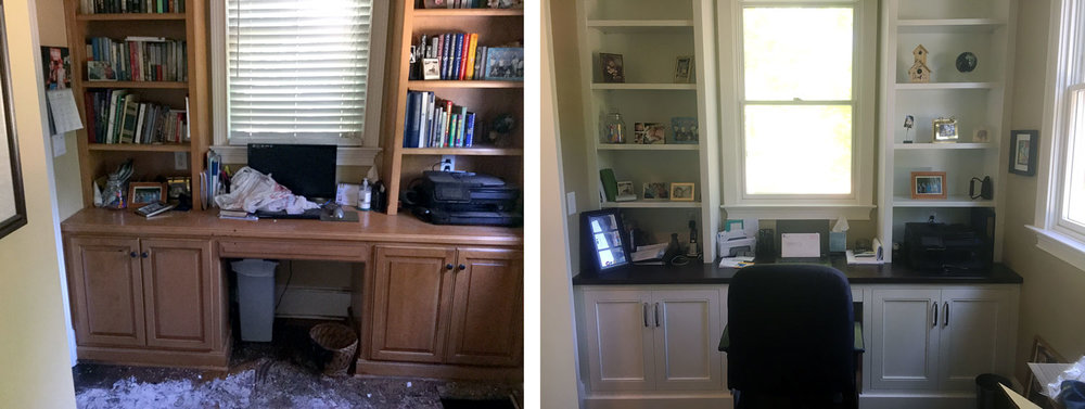 Home Office: Before / After