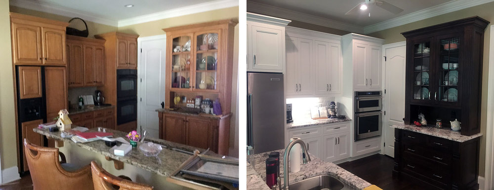 Kitchen: Before / After