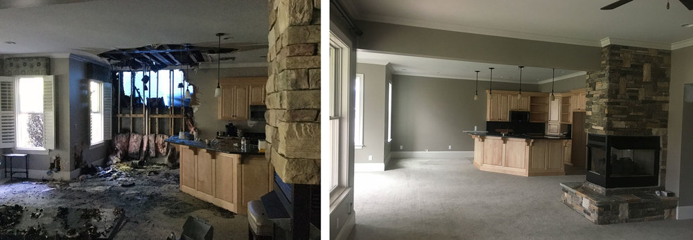Basement: Before / After