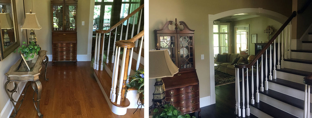 Foyer: Before / After