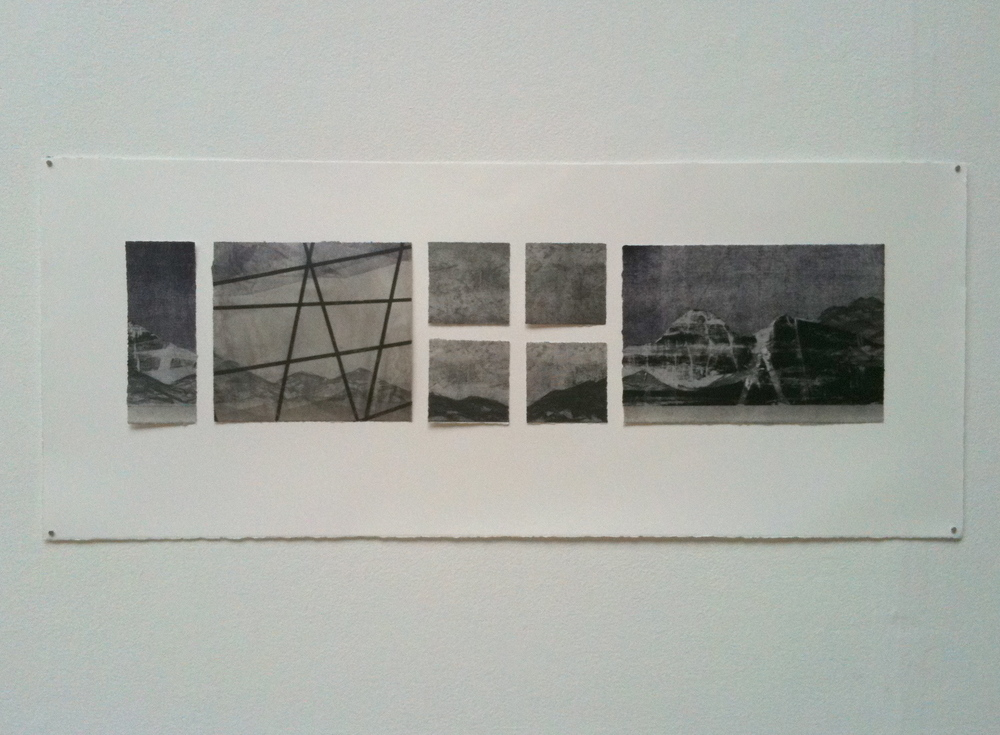 Print comprised of etchings, screen prints and lithographs