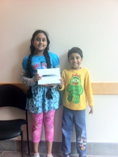 Grand Prize Winner - Diya Patel & brother Neel Patel