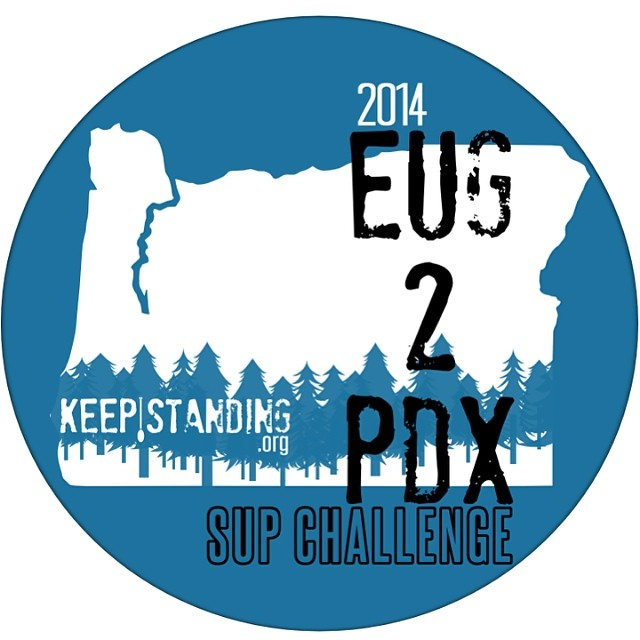 Stoked to do the #Eug2pdx SUP Challenge again this August with Shane Perrin. Even more stoked that we are asking others to join! Sign up for more info at keepstanding.org. We will be announcing more details this next month! Are you ready to #keepstanding ?  #oregonexplored #eugene #portland #standuppaddle #adventure #expedition @keepstandinghq #pnw