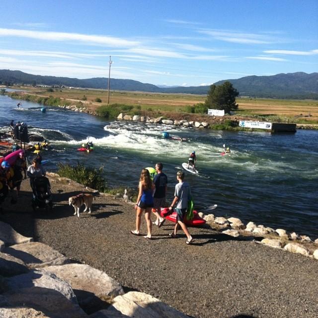 Cascade Idaho for the @payetterivergames !! #prg14 @glidesup #stokeradio