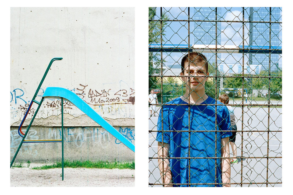 """""""They call me war kid. I love war. I love guns and war games like Ultimate Conquest. I am war kid. I hate _______. I want to kill all of them. In Bosnia here all we want is peace.""""  -Kenan, 14 years old. A lover, not a fighter (but really a fighter)."""