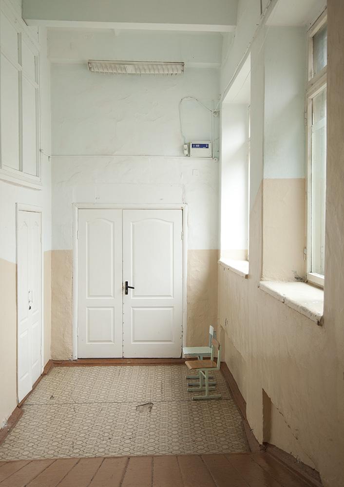 Interior of a school in Krasnouralskk.
