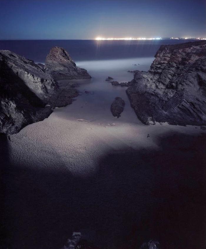 Praia Piquinia 21/08/10 22h12 a 23h12 by Christian Chaize | Digital C-Print
