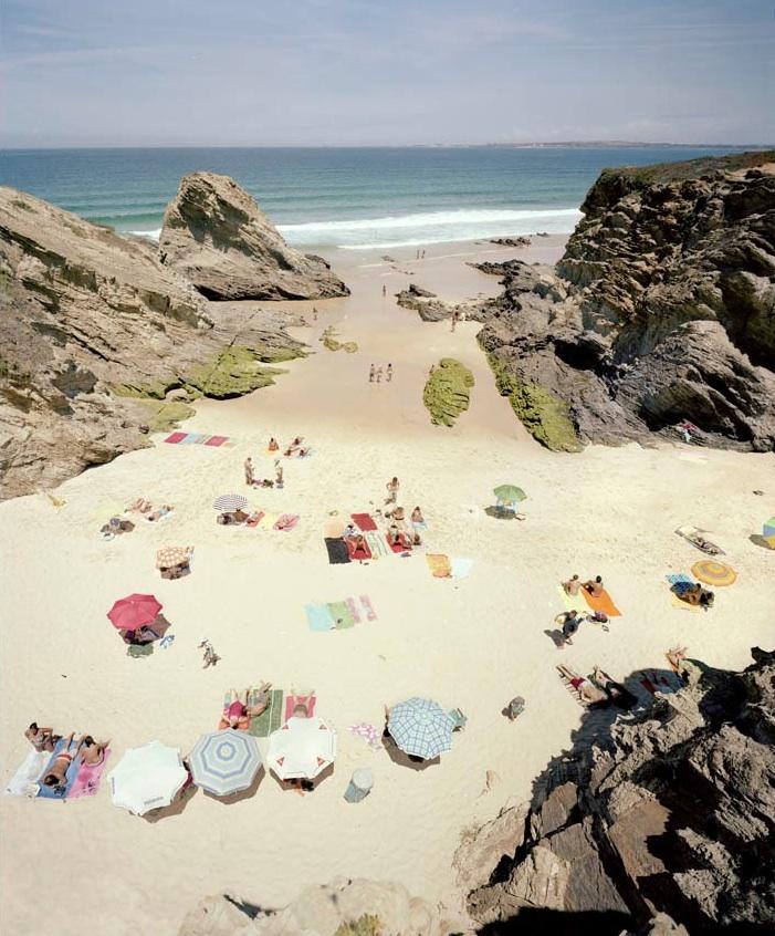 Praia Piquinia 25/06/09 12h28  by Christian Chaize | Digital C-Print