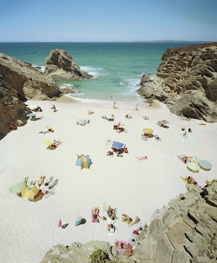Praia Piquinia 15/08/08 14h55 by Christian Chaize | Digital C-Print