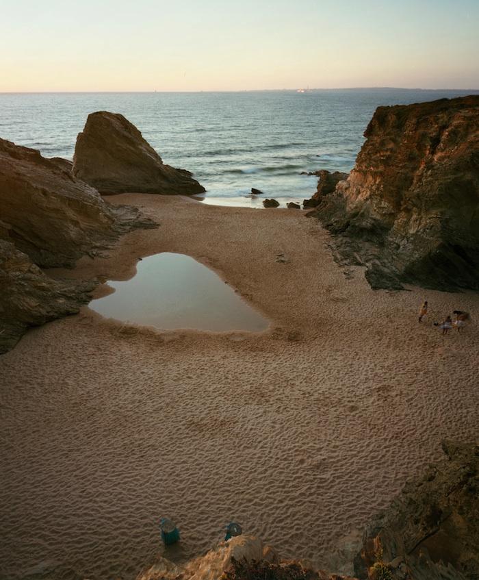 Praia Piquinia 24/08/11 20h10 by Christian Chaize | Digital C-Print