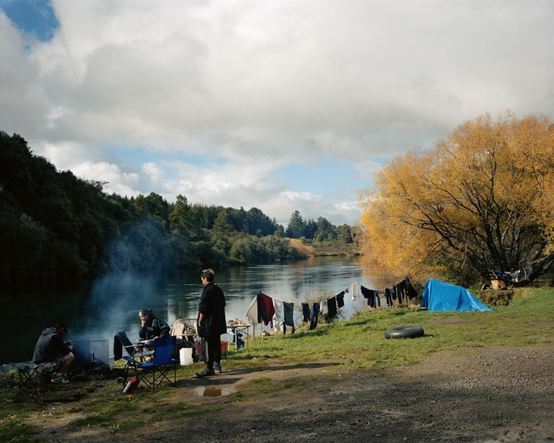 Kevin Simmons, Leanne Hema and Troy Burton, Reid's Farm, 2007  by Derek Henderson | Digital C-Print