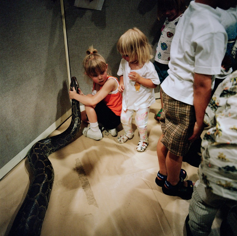 Snake With Kids  by Colleen Plumb | Digital C-Print