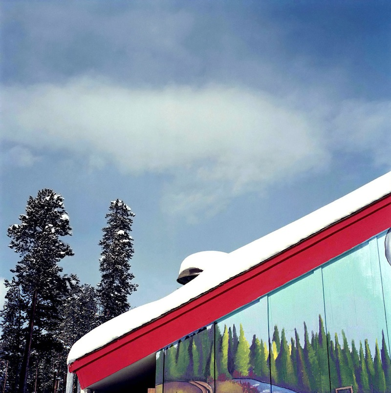 Chalet and Trees  by Colleen Plumb | Digital C-Print