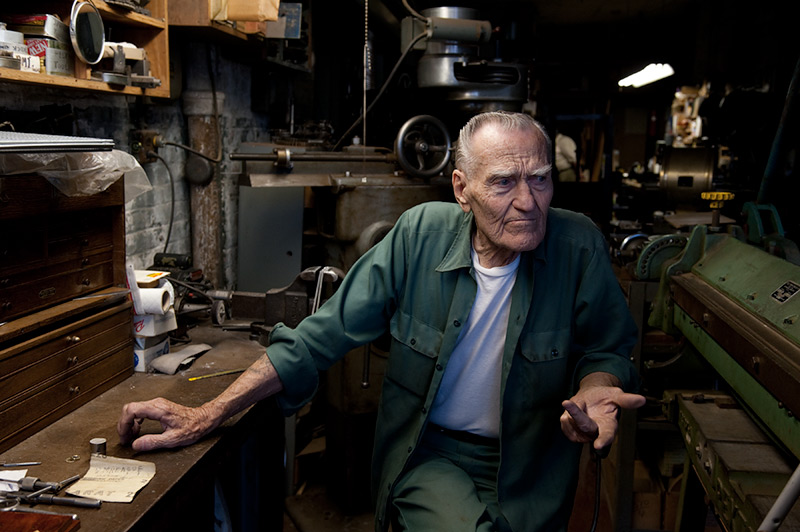 Walter (workbench)  by Joseph Holmes | Archival Pigment Print