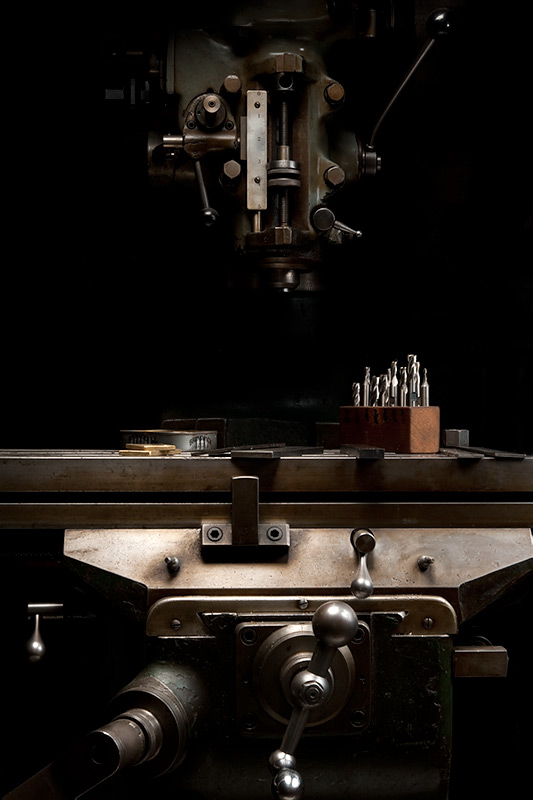 Bridgeport Vertical Milling Machine  by Joseph Holmes | Archival Pigment Print
