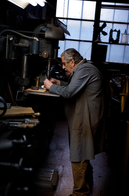 Hugo (drill press)  by Joseph Holmes | Archival Pigment Print