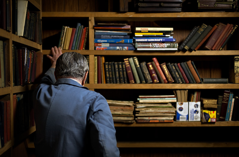 Hugo (library)  by Joseph Holmes | Archival Pigment Print