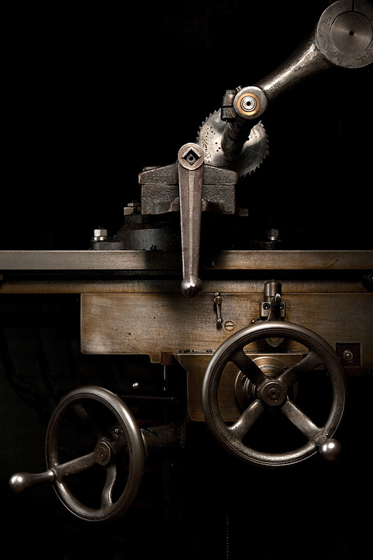 Van Norman Duplux Milling Machine by Joseph Holmes | Archival Pigment Print