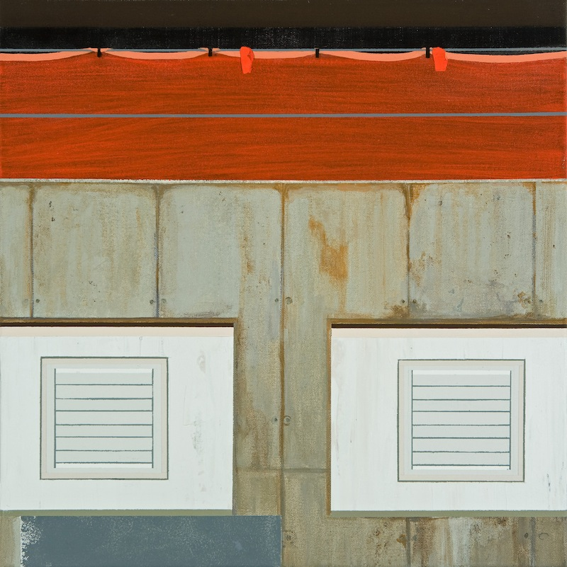 Vents  by Sarah McKenzie | Oil and acrylic on canvas