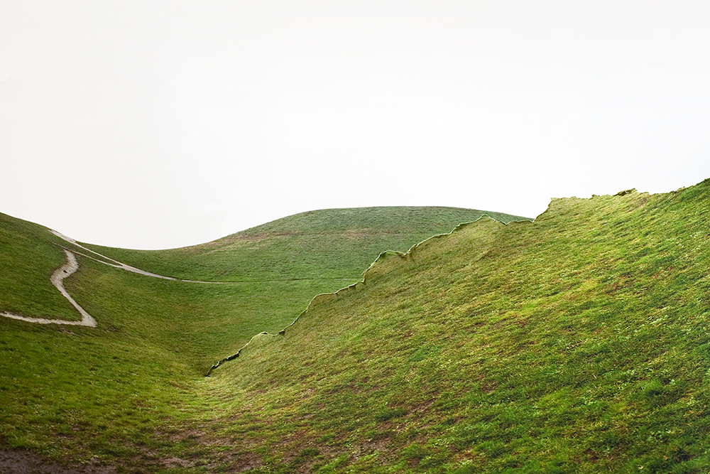 R  esponse to Print of Green Hill, Washington, 2010  by Laura Plageman | Archival Pigment Print