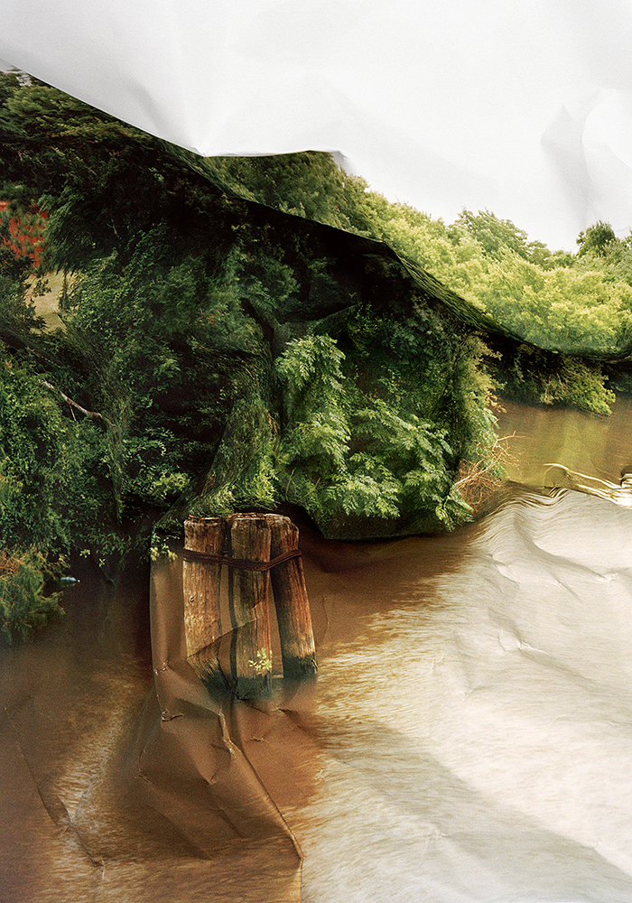 Response to Print of Riverbend, Texas, 2011 (left panel)  by Laura Plageman | Archival Pigment Print