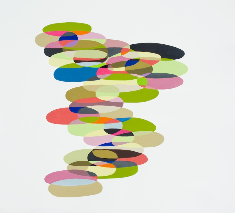 Multiple Plot Points by Jessica Snow | Acrylic on paper