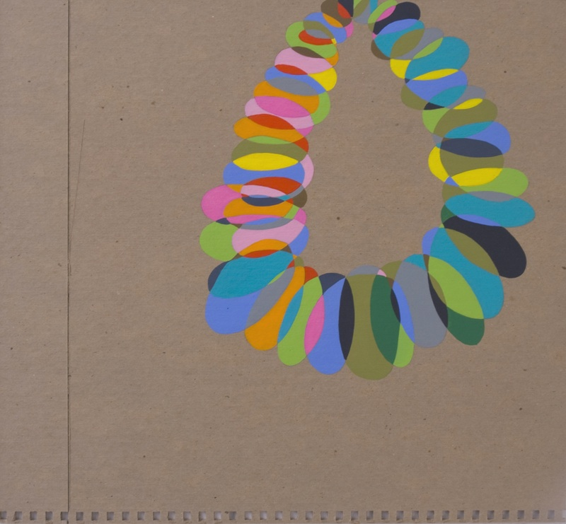 Booklet by Jessica Snow | Acrylic on board