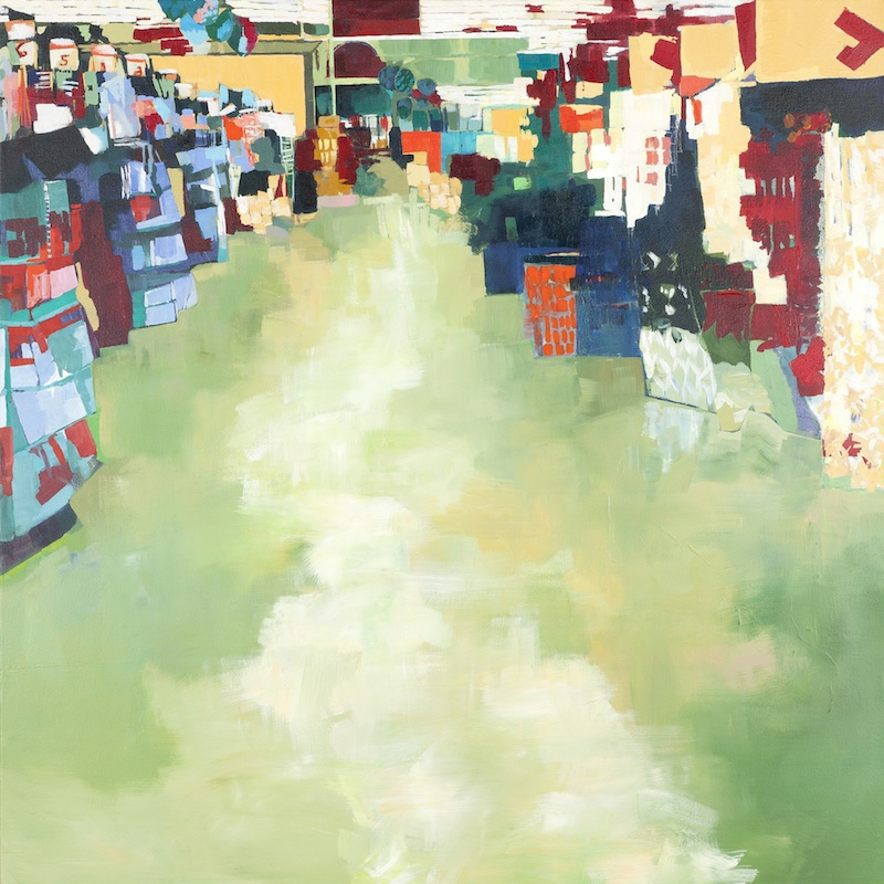 Verdant by Michelle Muldrow | Acrylic on canvas