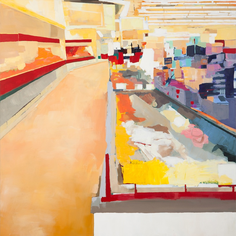 Aisles  by Michelle Muldrow | Acrylic on canvas