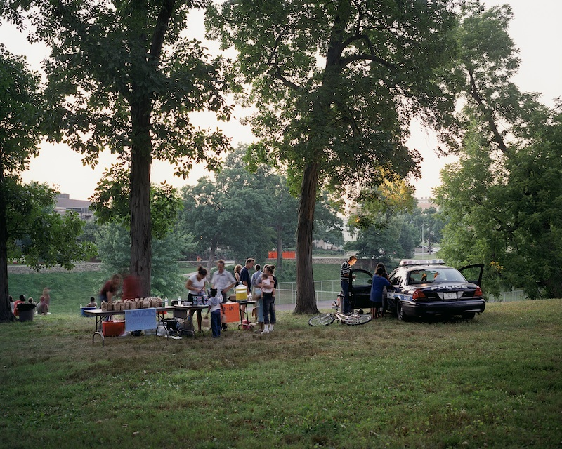 Movie Night, Kansas City, Missouri, 2005  by Mike Sinclair | Archival Pigment Print
