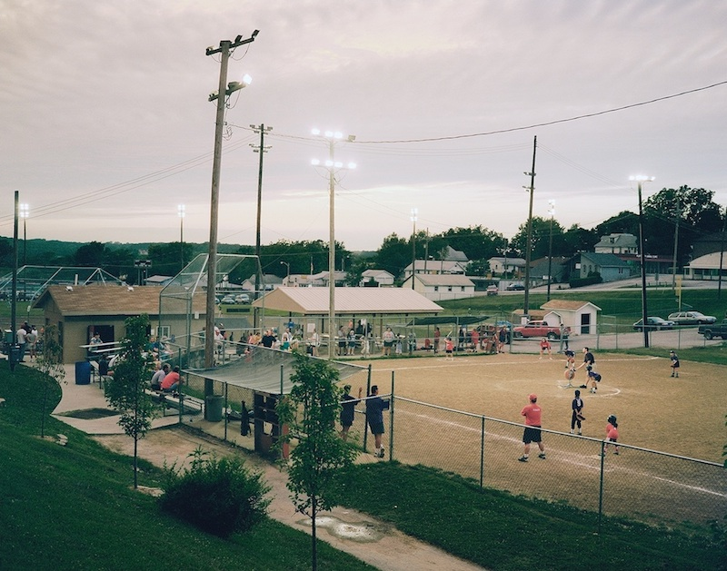 Girls Softball, Platte City, Missouri  by Mike Sinclair | Archival Pigment Print