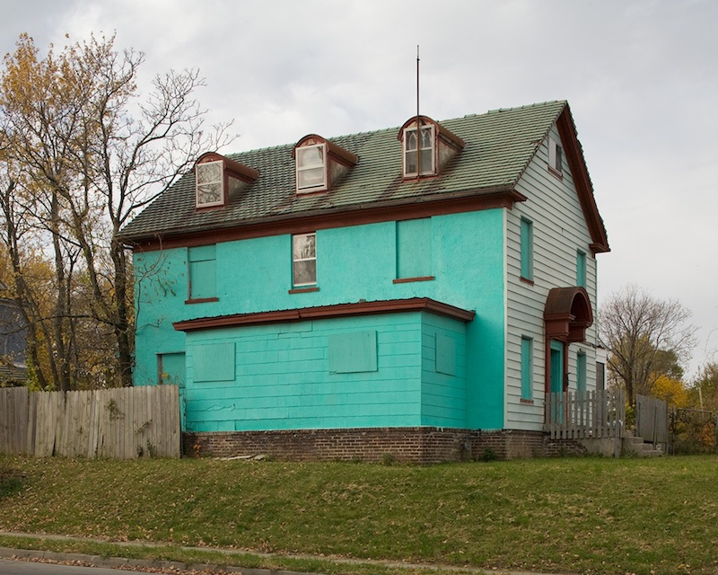 House, Linwood Blvd. & Bellfontaine Ave. Kansas City  by Mike Sinclair | Archival Pigment Print