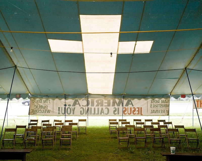 Sam Rose's Revival Tent, Kansas City  by Mike Sinclair | Archival Pigment Print
