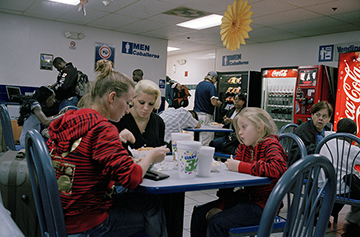 Bus Station, Atlanta, Georgia, December 2009  by Chikara Umihara | Digital C-Print