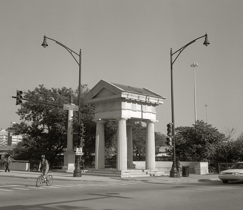 Doric Pavilion by Beth Dow | Platinum-Palladium Print
