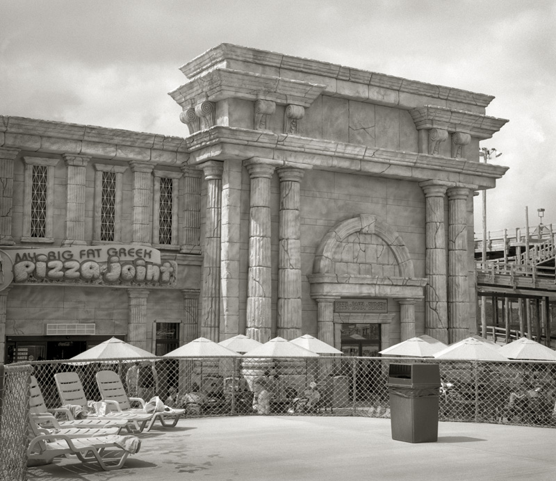 Piazza  by Beth Dow | Platinum-Palladium Print