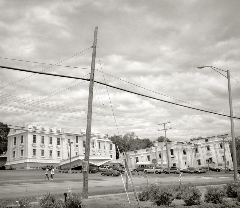 White House  by Beth Dow | Platinum-Palladium Print