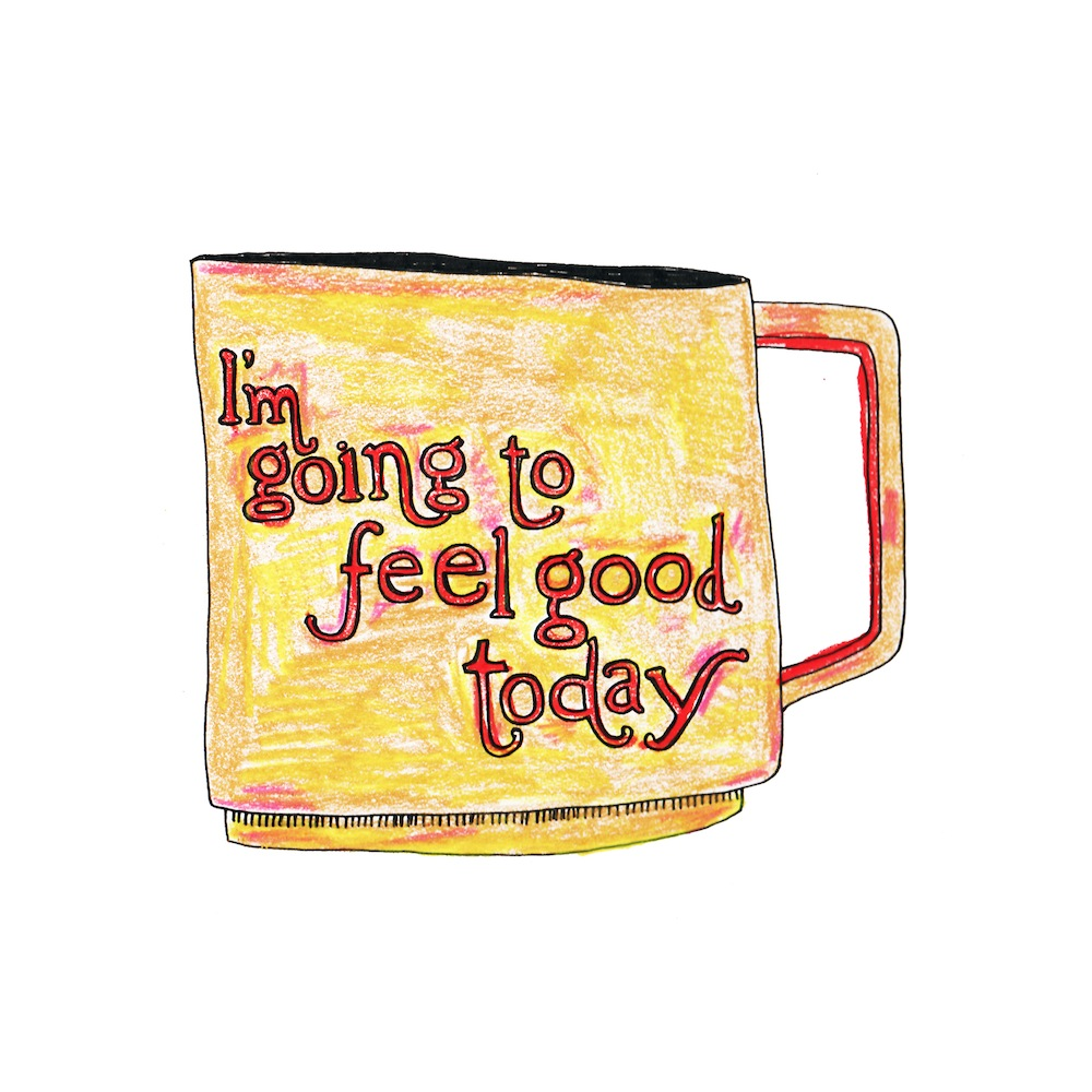 Good Mug  by Kate Bingaman-Burt | Ink on Paper