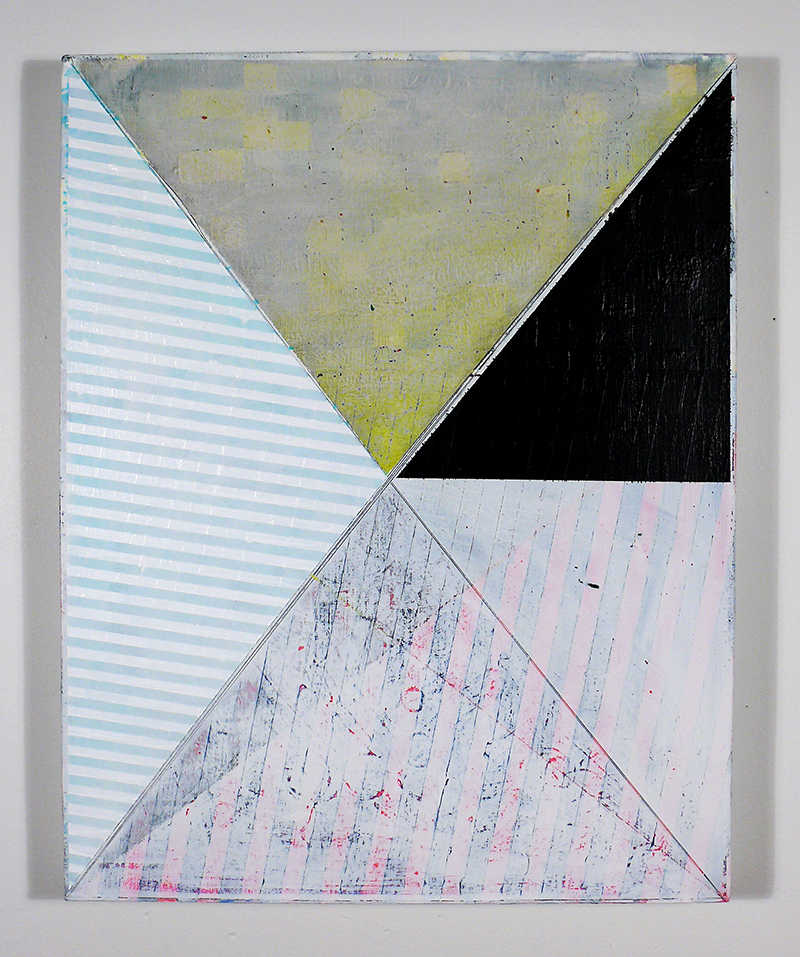 NY13#09 by Jennifer Sanchez | Mixed Media on Panel