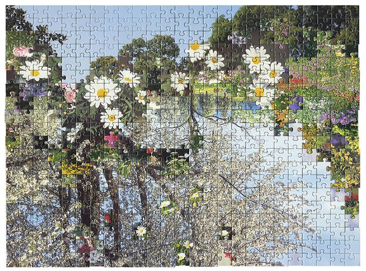 Puzzle  #3 by Kent Rogowski | Puzzle Assemblage and Digital C-Print