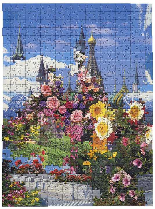 Puzzle  #8 by Kent Rogowski | Puzzle Assemblage and Digital C-Print