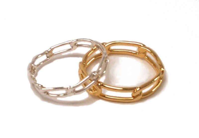 $65 LINK RING inspired by simplistic beauty of a wide-linked chain. it is available in 2 sizes (small and large) sterling silver