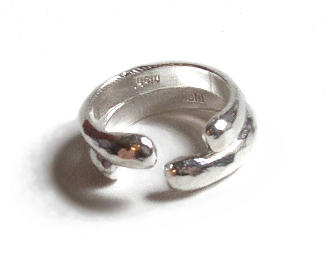 $110 COSTA RING   just like the disks surrounding the spine, protecting it, the costa ring can be worn as a symbol of protection sterling silver